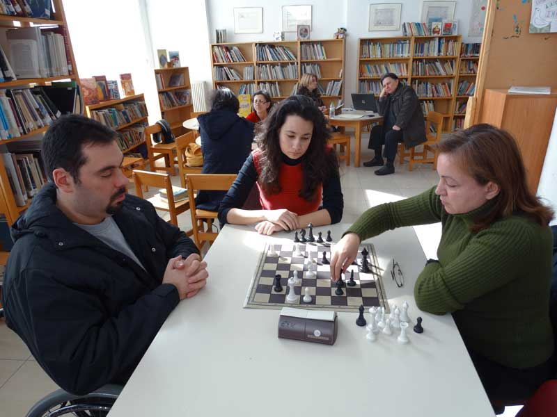 Σκάκι στις Βιβλιοθήκες - 1ο Τουρνουά Ενηλίκων