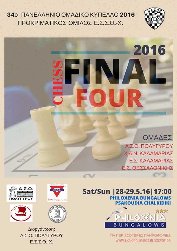 final four του Κυπέλλου της ΕΣΣΘ-Χ