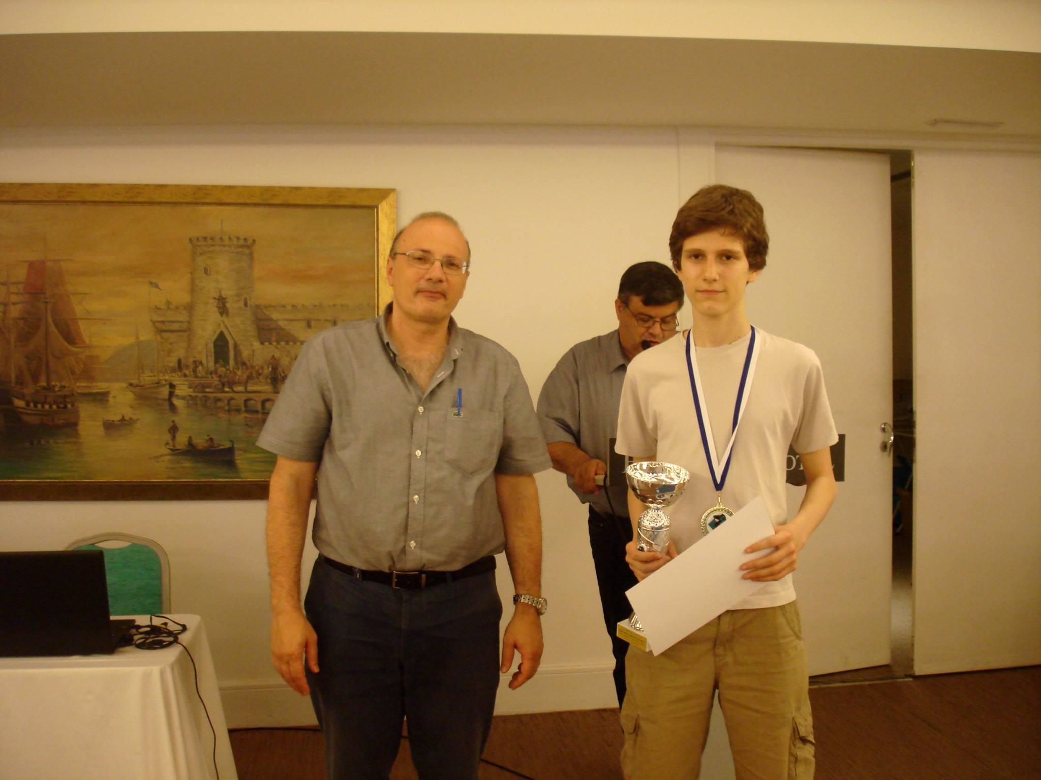 Βλάχος Ανατολ, Πρωταθλητής Ελλάδος Κ14 για το 2016